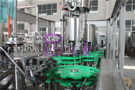 Touch Rotary Juice Filling Machine 18 Heads 4.5KW Stainless Steel